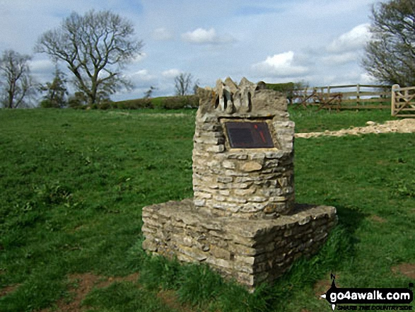 Battle of Stow Memorial, West of Donnington