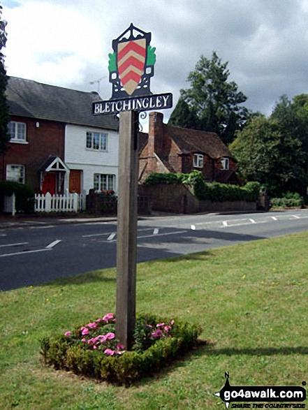 Bletchingley village