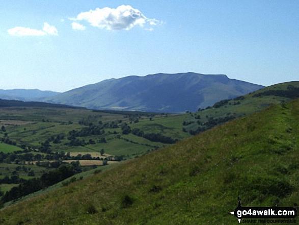 Blencathra or Saddleback (Hallsfell Top) and Sharp Edge from Little Mell Fell