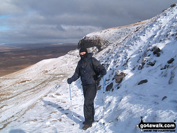 Walk Picture/View: On the Yorkshire Three Peaks below Pen-y-ghent in The Southern Fells Area, The Yorkshire Dales, North Yorkshire, England by Bri Hilton (1)