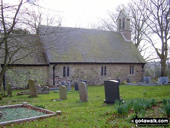 Cleobury North church