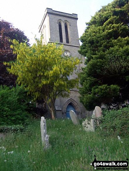 New Radnor church, Radnor Forest