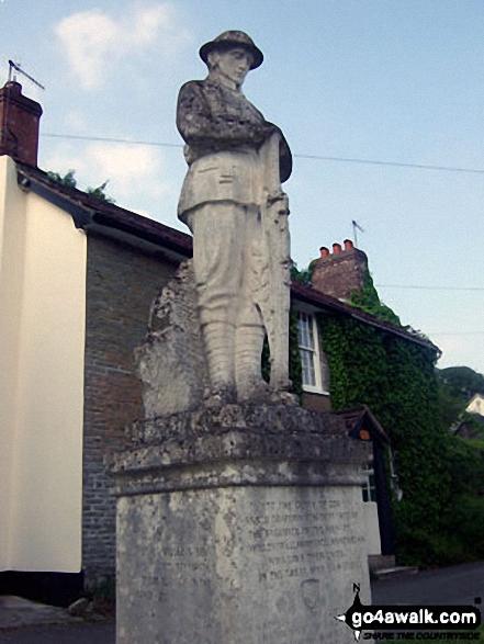 New Radnor war memorial, Radnor Forest