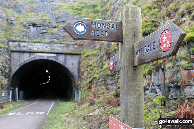 The Monsal Head Tunnel from Monsal Head Viaduct