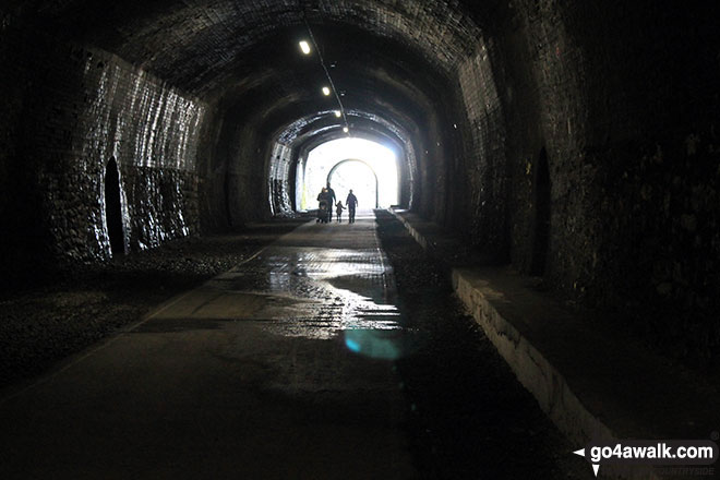 Inside Monsal Head Tunnel