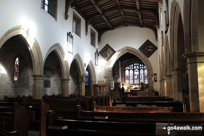Inside Great Longstone Church