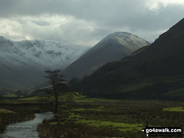 Walk c304 Beda Head and Place Fell from Howtown - The Nab from Christy Bridge