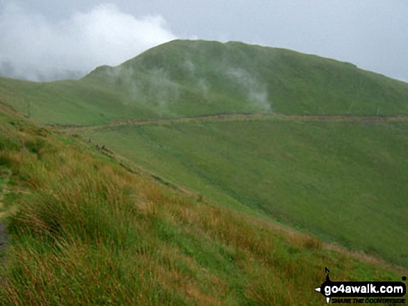 Walk Mynydd Rhyd-galed walking UK Mountains in The Cadair Idris Area Snowdonia National Park Gwynedd    Wales