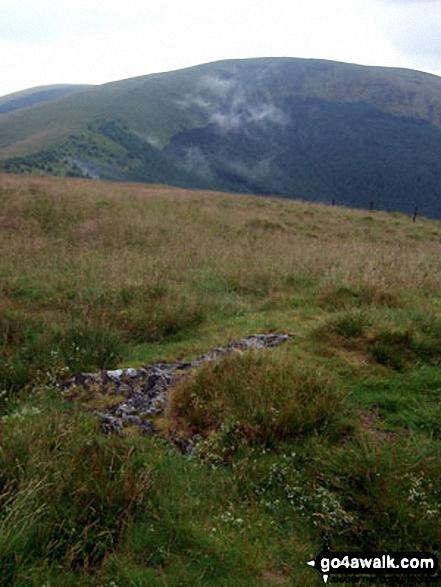 Tarrenhendre from Mynydd Rhyd-galed summit
