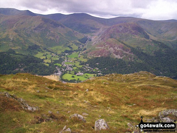 Glenridding from Place Fell