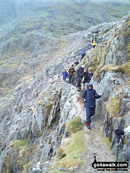 Descending the Pyg Track, Snowdon (Yr Wyddfa)