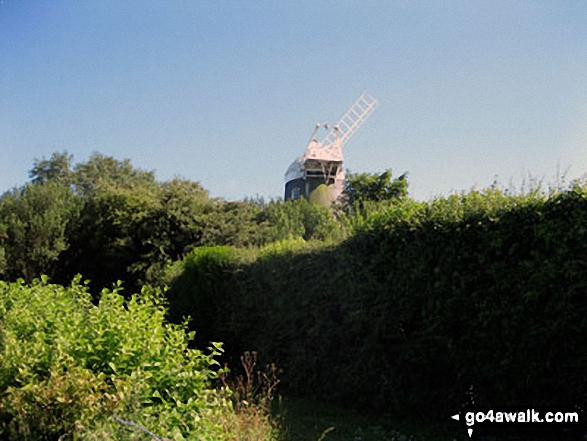 Jack Windmill (of The Jack and Jill Windmills) above Clayton