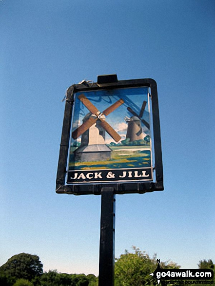 Jack and Jill Pub Sign, Clayton