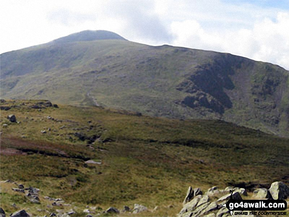 Great Gable and Green Gable from Base Brown