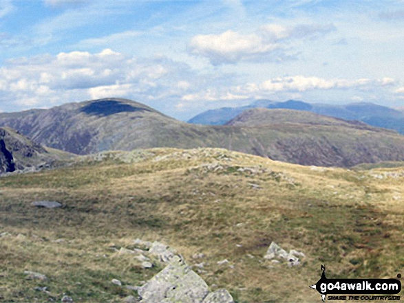 Dale Head (Newlands) and High Spy from Base Brown