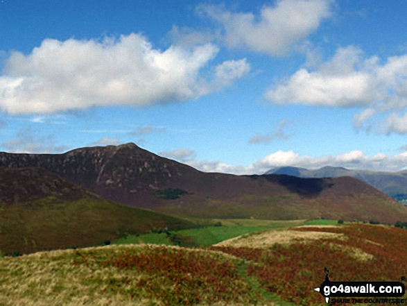 Causey Pike and Rowling End from Blea Crags
