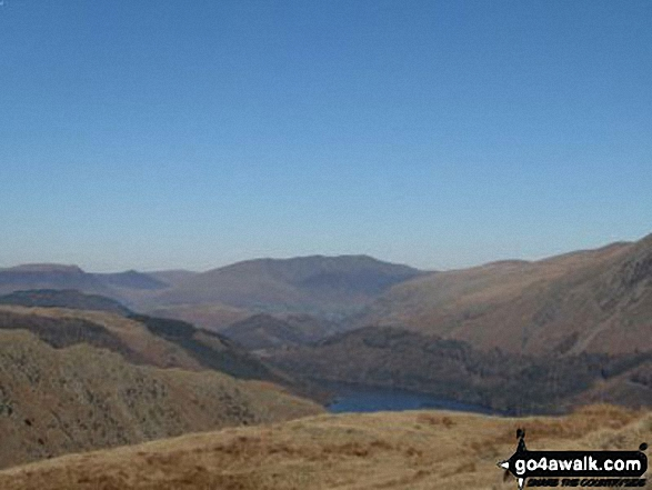 Thirlmere and Blencathra from Steel Fell (Dead Pike)