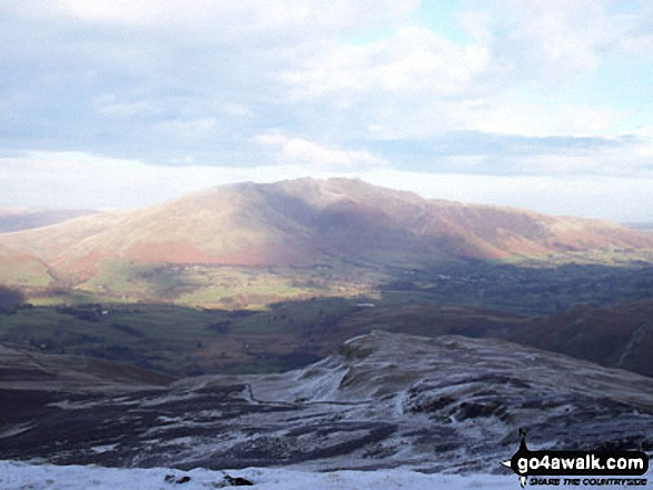 Blencathra (or Saddleback) from Bleaberry Fell