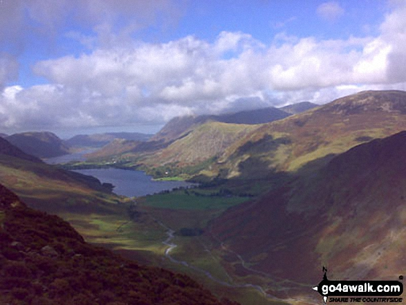 Crummock Water and Buttermere from Hay Stacks