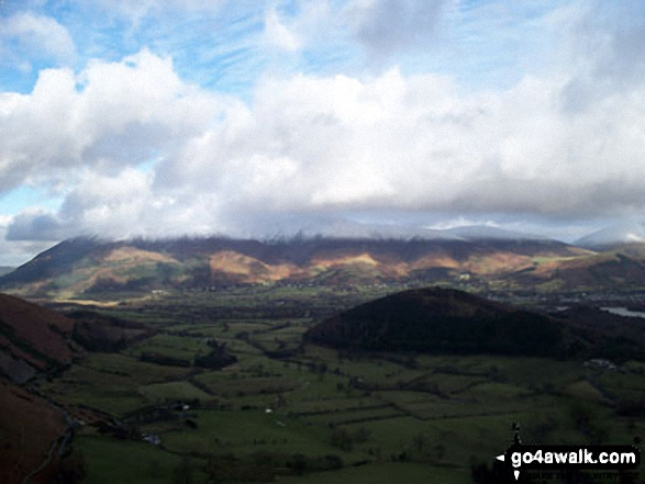 Skiddaw from Rowling End - with Swinside in the foreground