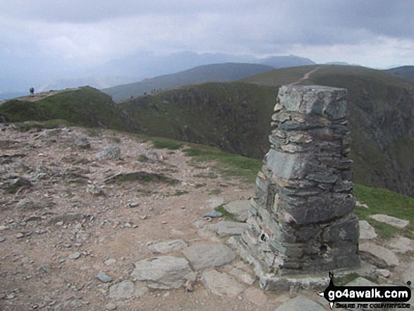 The Old Man of Coniston summit trig point