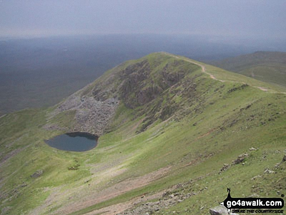 Brown Pike and Blind Tarn from Dow Crag