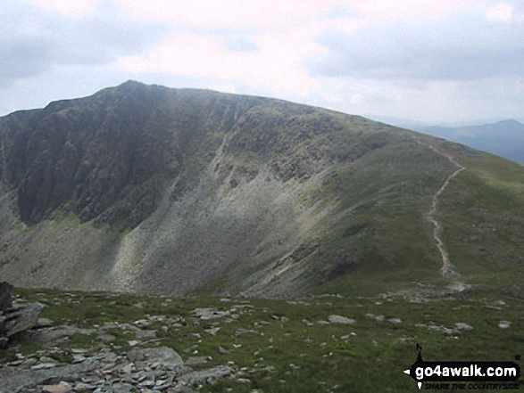 Dow Crag from Goat's Hawse
