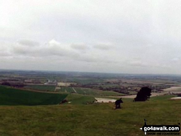 The view from Ivinghoe Beacon