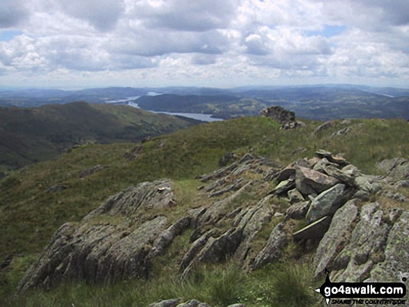 Lake Windermere from Snarker Pike summit