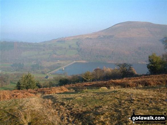 Talybont Reservoir from Twyn Du (Waun Rydd)