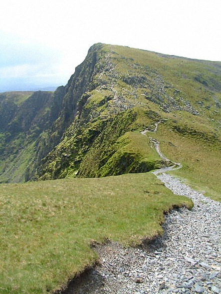 Cadair Idris (Penygadair) Summit from the Pony Path