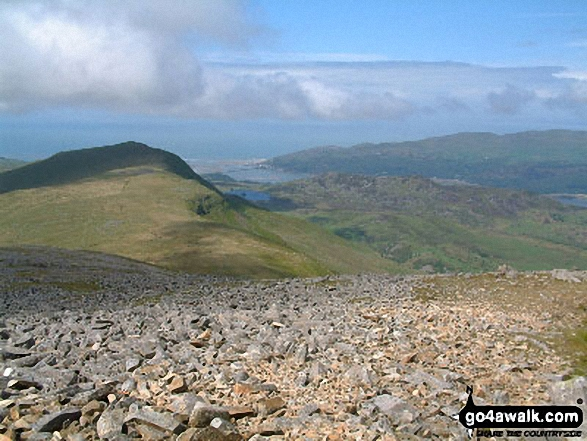 Walk Tyrrau Mawr (Craig-las) walking UK Mountains in The Cadair Idris Area Snowdonia National Park Gwynedd    Wales