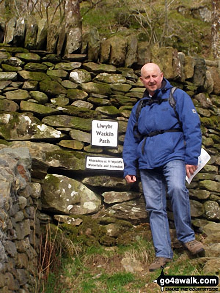 On the Watkin Path enroute to Mount Snowdon (Yr Wyddfa)