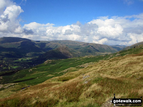 Helm Crag, Gibson Knott and Steel Fell from Nab Scar
