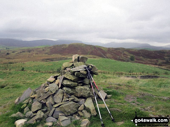 Walk Reston Scar walking UK Mountains in The South Eastern Marches The Lake District National Park Cumbria    England