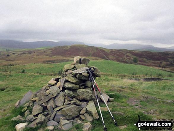Reston Scar summit cairn