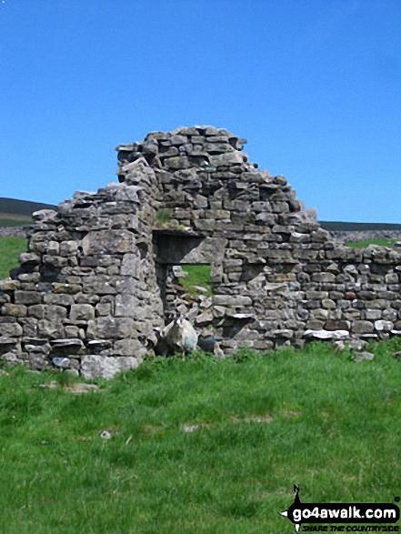 Ruin on Yockenthwaite Moor