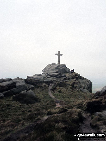 Rylstone Cross on Rylstone Fell