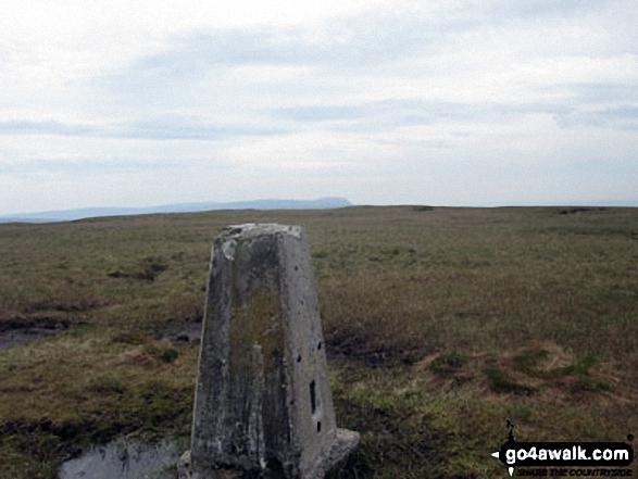 Dodd Fell Hill summit trig point