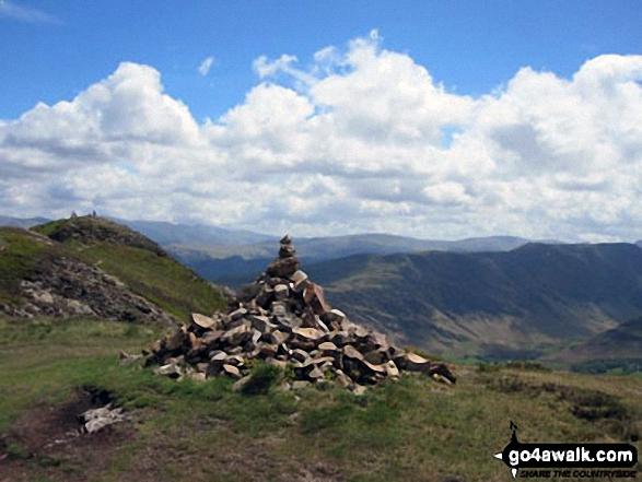 Causey Pike summit cairn