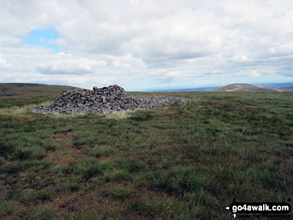 Scotsman's Cairn on Cairn Hill, SW of The Cheviot