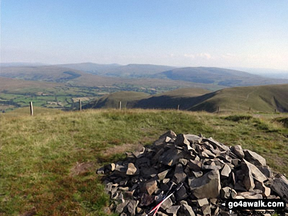 The summit cairn on Calders