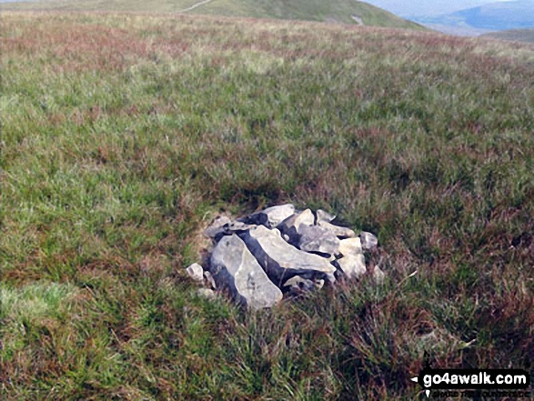 Bram Rigg Top summit cairn