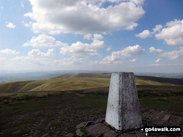 The Calf summit trig point