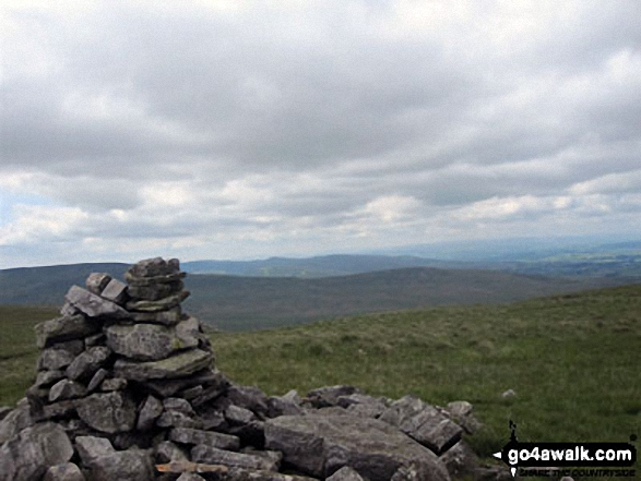 High Seat (Mallerstang) summit cairn