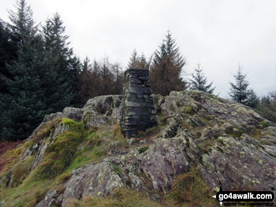 Claife Heights (High Blind How) summit trig point
