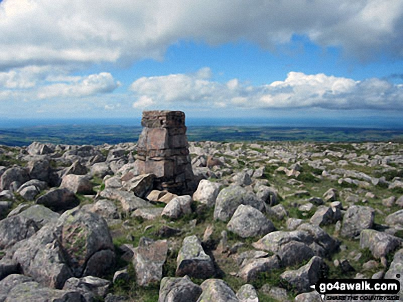 Great Borne summit trig point