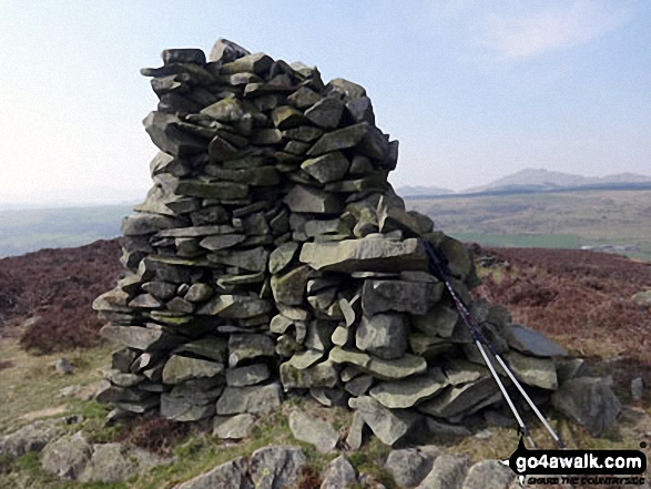 Yew Bank (Blawith Fells) summit cairn