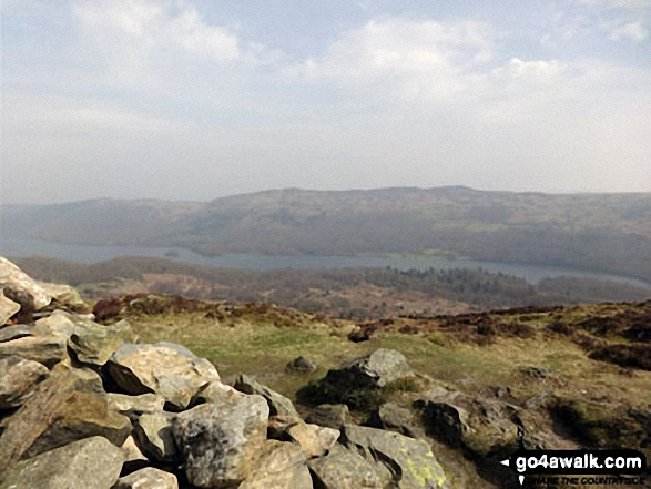 Coniston Water from Beacon (Blawith Fells)