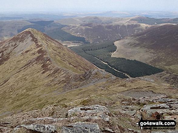 Walk c246 Hopegill Head and Grasmoor from Lanthwaite Green - Ladyside Pike from Hopegill Head